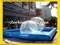 Water Ball Pool Balls Pool Inflatable Pool Swimming Pool for Zorbs
