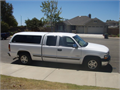 2000 Chevy Silverado LT Extended Cab For Sale by 2nd owner bought 2002 White 53V8 AT AC CC