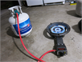 714 - 561 - 5648This a 26000 BTU Super High Powered gas burnerExtremely PortableCarry on