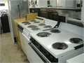 Clearance Sale Electric Stoves  Dryers 150100s of electric 220 stoves and dryers almost new condit
