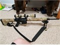 DPMS G2 Hunter 308 20  stainless barrel with bipod  Very accurate and low round count Scope is a