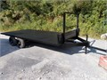 16'x8' steel farm trailer