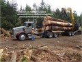 Logging Company Pacific Northwest Self Loader Log Hauling Timber Harvesting Free Bid Quality wor