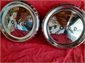 1960-63 Ford FalconRanchero Hub Caps 95 DOG DISH 2 each Very nice condition Please TEXT or