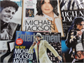Various magazines including Entertainment Weekly special edition and USA Today newspaper from June 2