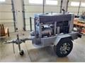 Lincoln SA-200 Red Face F163 Gas Powered Arc Welder on TrailerThis is a reconditioned 1963 Lincoln