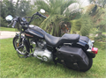 2005 H-D Super Glide FXDI fuel injected Bike has new matching hand grips front  rear foot rests