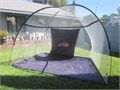 WILSON Multi Purpose Net works great for golf practice football throwing and kicking baseball pit