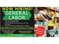 NOW HIRING GENERAL LABOR FOR OUR FULLERTON LOCATION Apply in person at 4201 Bonita Place Fulle