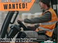 Were hiring Reach Truck and Sit Down Forklift Drivers for 1st  2nd shifts at both Fullerton and Bu