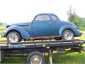1937 coupe stored on concrete since 1970 It does not start but the engine turns freely by hand Ve