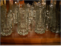 22 new beer mugs  these have never been used they are glass and heavy perfect condition only sto