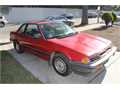 1984 Red Honda Prelude 4 cylinder runs and drives good  5 speed manual 207383 miles disc brake