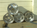 ALLOY WHEELS 16 X 8 412 INCH LUGS CENTERS NEED TO BE STRIPPEDRE-CHROMED POLISHED OR PAINTED