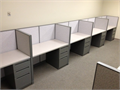 Used Kimball cubicles100 Stations available  400 Stations Original InventoryAt the sizes of 2x