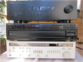 Like new Yamaha receiver 200 watts pc  Old Harmon Kardon receiver- 55 watts pc It may just need