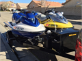 2003 Super Charged GTX Yellow - 4 stroke 3 Seater 2002 GTX Blue - 4 Stroke 3 Seater Comes with N
