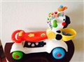 New Toy Talking interactive Zebra Ride on Wheels talks and sings switch mode Bilingual great to ri
