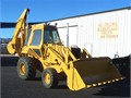 Case 780B Loader Backhoe 111 HP Diesel 3 Spd Manual Transmission Enclosed Cab Good Glass Air Br