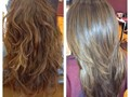 Mini Brazilian Blowout last up to 12-15 washes Fix summer damage seals the cuticle to protect and