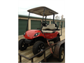 2012 Yamaha golf cart with lift kit Back seat Red with tan seatsLike new662-414-6932