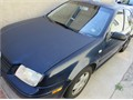 2002 volks jetta blue exterior grey interior  4 dr auto clean leather interior nice stereo sys