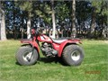 1984 Honda Big Red ATC200ES Legendary Big Red 200cc three-wheeler 10 speeds forward and 2 speeds