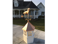 Beautiful new Amish cupola for gazebo Made of vinyl with copper roofPaid over 60000 Will take