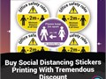 Social distance is the only cure to fight with this pandemic Boost your business by throwing awaren