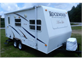 2008 Rockwood Mini LiteLite WeightUVWR 2707 LBSSleeps 4Cold roof air conditionerNew fabri