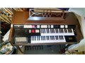 tube amp keyboard  pedals work well all keys work some settings need repair  23x35x46 will