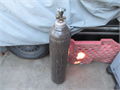 Helium gas tank 36 Inch size with 23 full of the gas  1500--pressasking price4--195 north holl