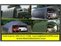 Portable Garage Shelter for Motorhome 5th Wheel RV and BoatSTOP Weather and Sun DamageS