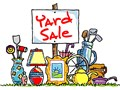 Yard Sale this Saturday 7am-1pm Household items bedding kitchen ware clothing children and adu