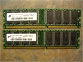 Micron 512MB 256MB X 2 DDR 400MHz CL3 SOLD AS A PAIR