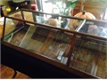 Antique display cabinet Excellent condition  69 12Lx12Hx17 34D Purchased from old store in 1