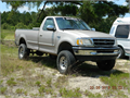 1998 Ford F150 XLT 136650 miles  towing package 54 Triton V8 lift kit tires fair 2857516  2