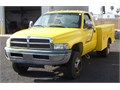 1 Owner 99 3500 Dually 59 V-8 Gas Engine Automatic Transmission Pacific Utility Body Great Ti