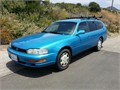 1992 Toyota Camry Wagon Fantastic New Paint electric blue New engine windshield tires brakes