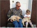 Have 1 healthy AKC registered yellow lab puppy Puppy was born 111016 and received first shot and