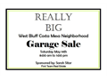 West Side Costa Mesa Annual Garage Sale May 14th 800am to 100pm located North and South of Victo