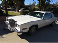 1984 Cadillac Eldorado Looks GoodRuns Great Salvage title but nothing visible Clean white leath