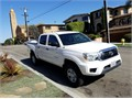 2012 Toyota Tacoma Prerunner Used 15195 miles Private Party Extended Cab 4 Cyl White Gray Ex