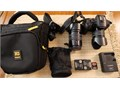 Panasonic Lumix G6 with 14-42 kit lens and Vario 140-5645-150 Asph incl Extra battery charger