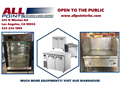 We are All Points Restaurant  Bakery Equipment we specialize in selling used and refurbished resta