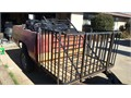 NISSAN 6ft pick up Bed utility trailer with additional 3 ft of cargo space on front Registered Go