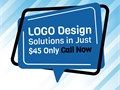 A large range of types of logos is offered From ready-made to custom-made logos are available All