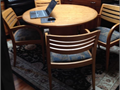 McMahan Business Interiors Office Chairs and Table6 - Madison Armchairs upholstered seats by Arch