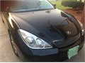 2005 Lexus ES 330 Salvage Private Party Sedan 6 Cyl Black Beige Good cond Auto FWD 4 Doors