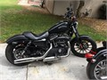 014 Harley Davidson 883 iron blackout edition 11k on the odometer clean title no accidents 10 inch Z